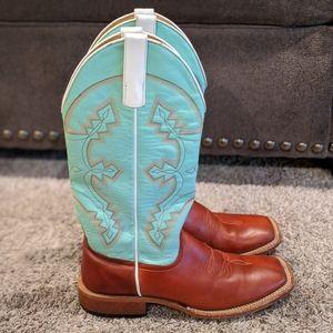 Anderson Bean HORSEPOWER cowboy western boots 7.5